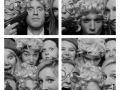 B&W Photo Booth Grid