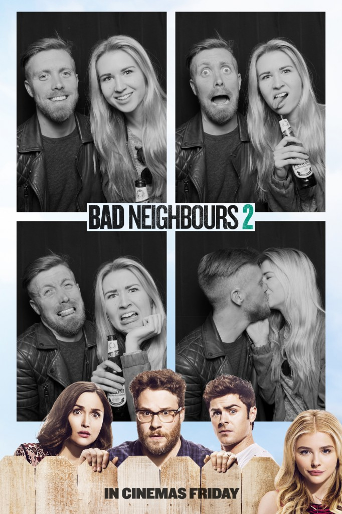 Bad Neighbours 2 BoothStar Photo Booths
