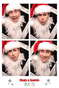 Christmas Photo Booth Printout