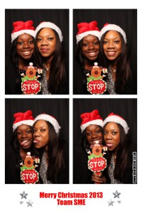 Corporate Christmas Photo Booth